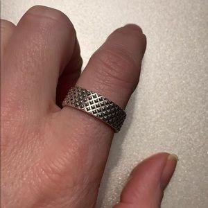 Tiffany & co. Men's diamond point ring